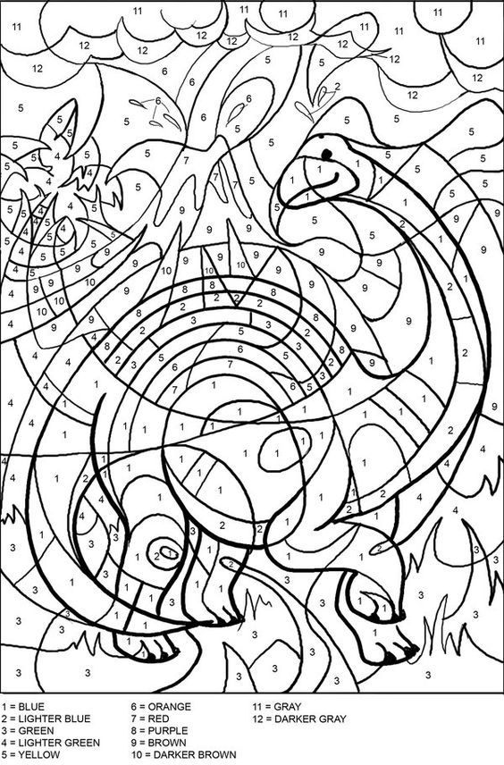 197 best Color By Number Pages images on Pinterest | Coloring, Adult ...