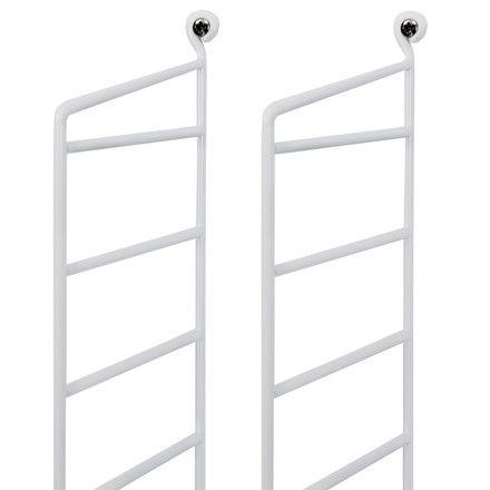 Doppel-Leiter - weiß