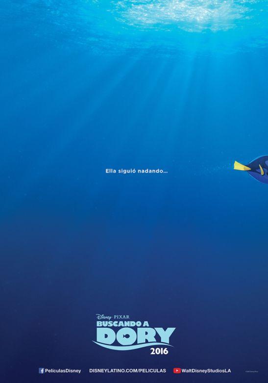 """Primer tráiler oficial de """"Buscando a Dory"""" – Cinéfilos   Cinefanático #cine #tráiler"""