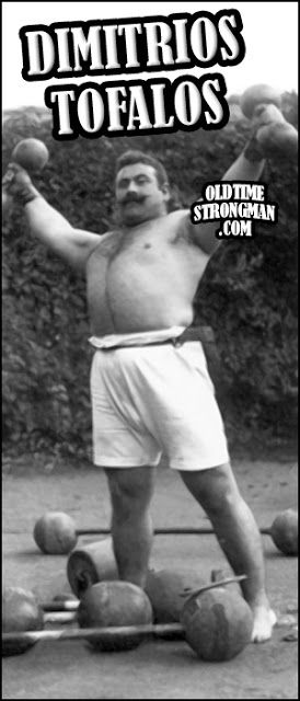 The legend. Gold Olympic champion 1906 (weightlifting), a freestyle wrestling champion in America. 251 wins in Freestyle wrestling and 140 in weightlifting.