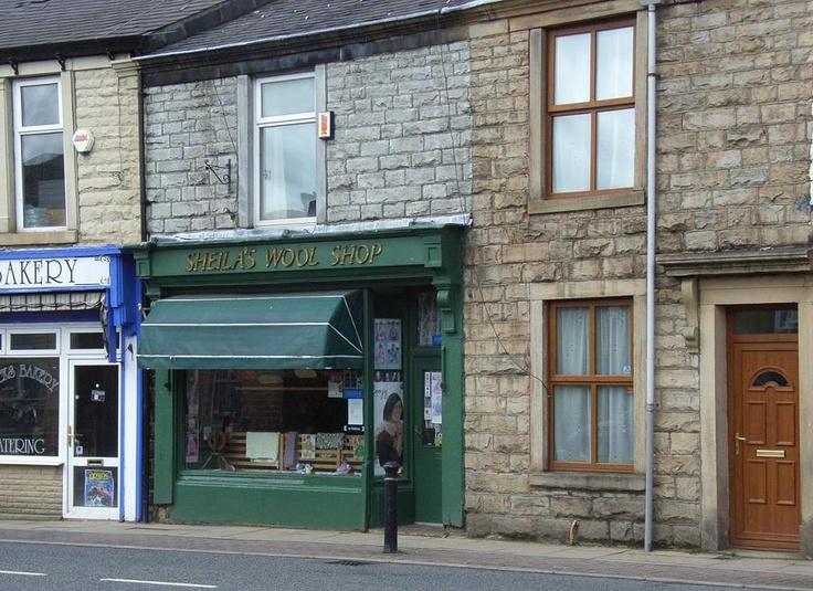 Sheila's Wool Shop  Union Road, Oswaldtwistle