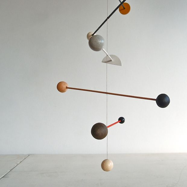 I'm currently obsessed with these mobiles by Renilde de Peuter