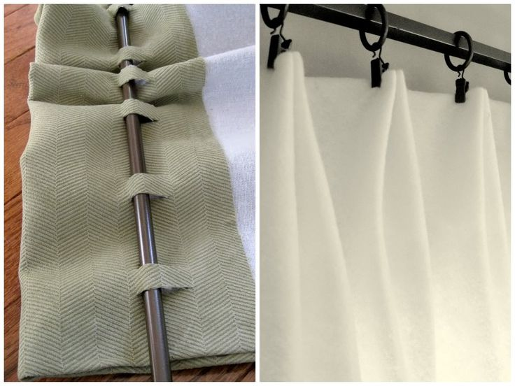 No-Sew Window Treatments - Why Stitch When You Can Glue? | DIY Home Staging Tips. #homestaging #sellmyhouse #realestate