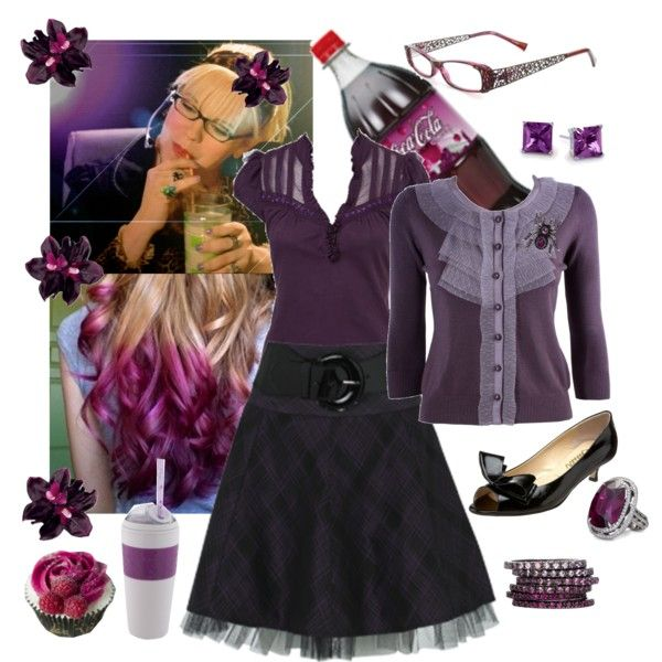 Leena Piper by sterlingkitten on Polyvore. Pinning this 'cause garcia is a boss and i aspire to her ability to own being unique.