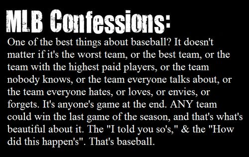 I love this! Its true though, the redsox went from being the worst to first in the matter of a year.
