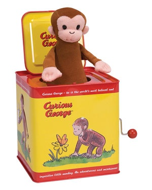 Schylling Curious George Jack in the Box   $24.99  $15.90