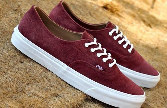 Vans Authentic Decon CA Burgundy | Chaussures vans homme ...