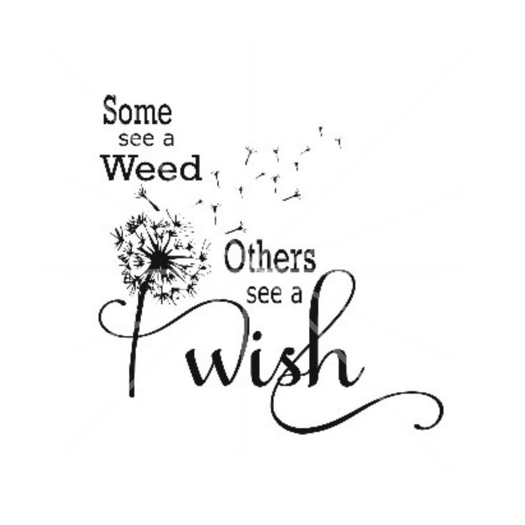 Svg Dxf Some See A Weed Dandelion Weed Wish By