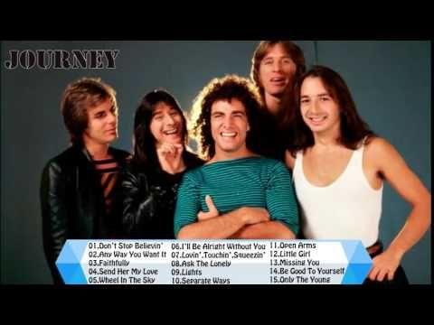 33 Best Songs Of Journey Full Album HD Journey's Greatest Hits - YouTube