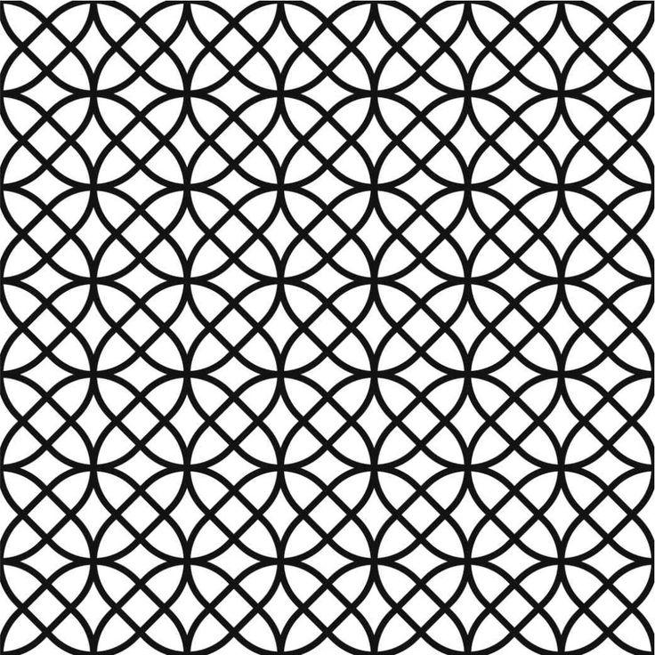 black and white chic pattern #wallpaper inspiration #circles #prints #graphics #textiles #interiordesign