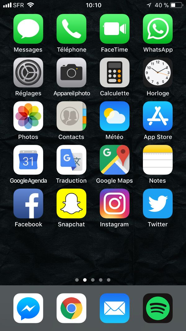 The best way to organize your iPhone Apps Iphone app