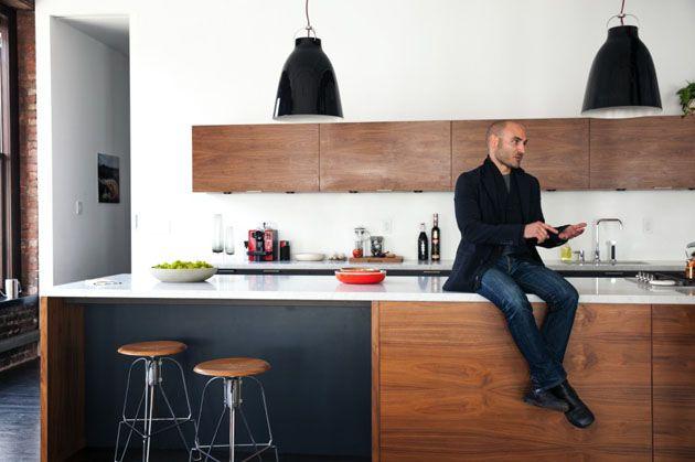 Pendant Lamp Black Kitchen on the Interior Collective