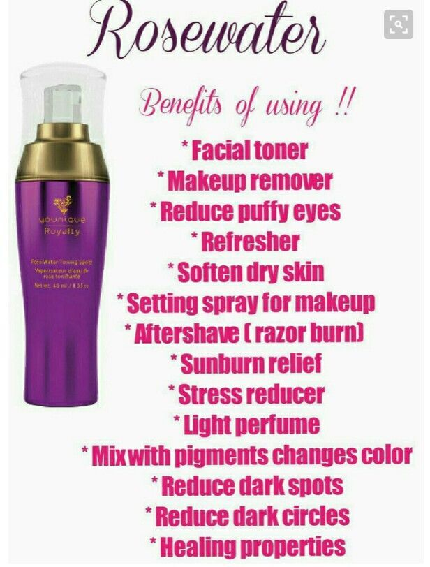 Rosewater by Younique uses - one of my top 3 products I use daily.  Every mom should have this in her purse.