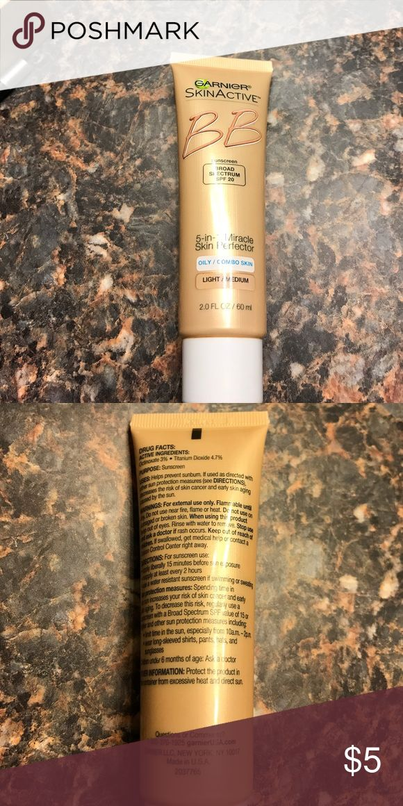 Garnier BB creme Garnier BB creme. About halfway full. A little goes a long way with this product garnier  Makeup