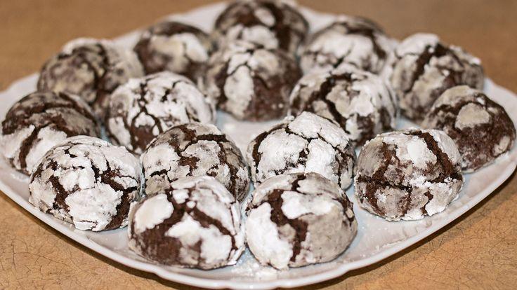 Шоколадное печенье Трюфель | Chocolate Truffle Cookies