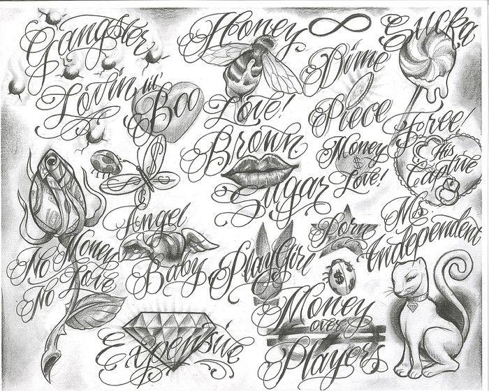 chicano girls tattoos zimg chicanos drawings chicano tattoo font ... / ¡ta-¡ta p!cs