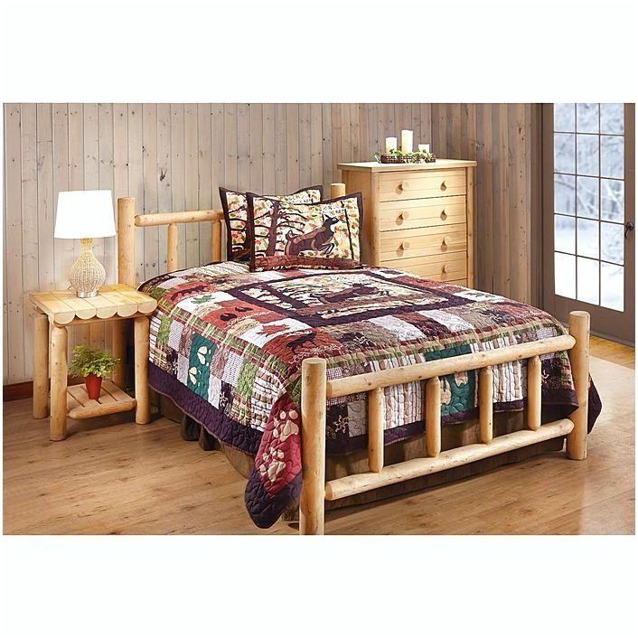 Best 25+ Log bedroom sets ideas on Pinterest | Bed designs in wood ...