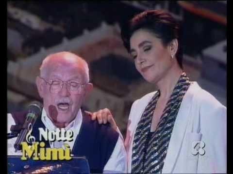 """▶ ♫ Mia Martini e Roberto Murolo ♪ """"Cu'mmè"""", duetto ♫ """"Azzurro 1992"""" ♫ - YouTube"""