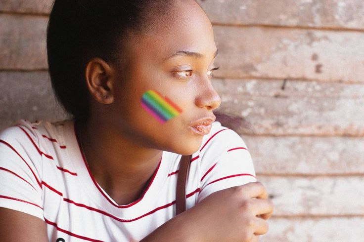 #photography #portrait #red #hair #woman #caribbean #canon #lights #rainbow