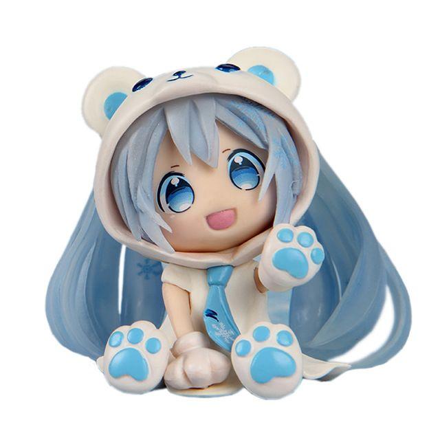 Аниме Nendoroid Симпатичные Хацунэ Мику фигурки детей Игрушки Куклы brinquedos…