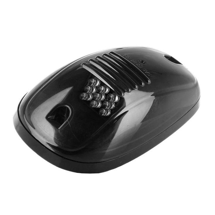 5pcs/set Super Bright Smoke Black Finish Lens Amber LED Car Roof Marker Running Lights For Truck SUV 4x4 Yellow Light