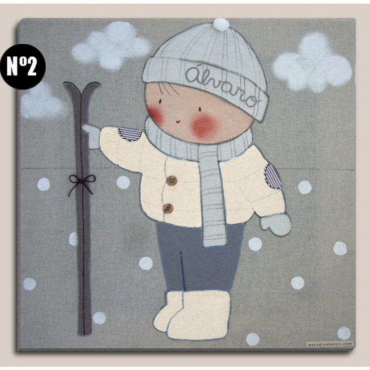 Mejores 129 im genes de cuadros pintados en pinterest for Dibujos infantiles pintados