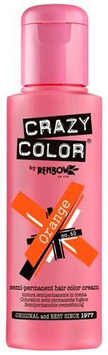Coloration CRAZY COLOR - Orange - #Teinture Violet #Cheveux Semi Permanente Pour une #Coiffure #Rock #Punk #Gothique #Emo rockagogo.com