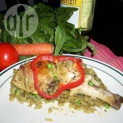 Arroz com frango peruano @ allrecipes.com.br