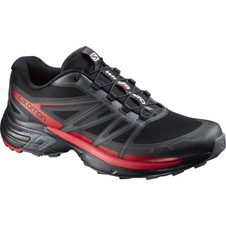 Salomon Men's Wings Pro 2 Trail Running Shoes, Black