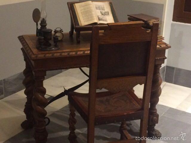 338 mejores im genes sobre coleccion muebles antiguos en for Sillas comedor antiguas
