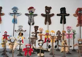 Image result for annette messager - habitats puppets.