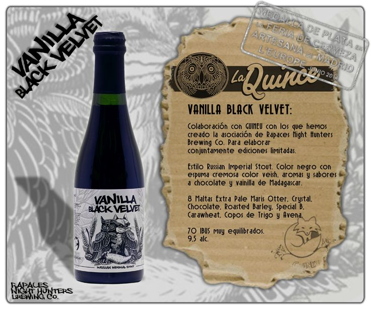 La Quince Brew - Vanilla Black Velvet (Russian Imperial Stout)