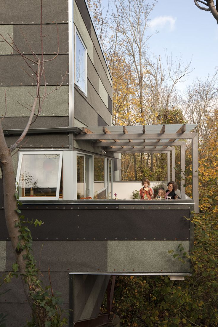 Shed architecture design modern architects seattle treehouse shed architecture design