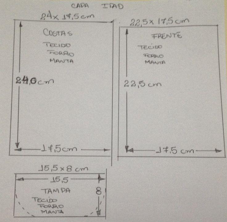 Acompanhe o passo à passo de como fazer uma capa para Ipad ou Tablet de tecido.