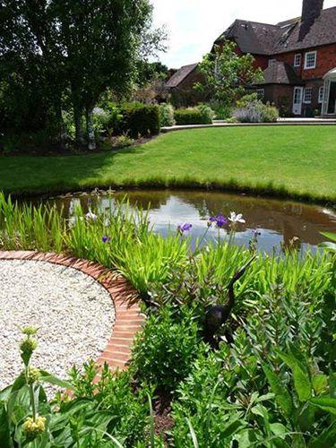 81 best garden pond images on pinterest backyard ponds for Garden pond life