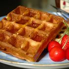 Yeast based belgian waffles. If you can wait the hour for the batter to rise- get into this recipe!!!