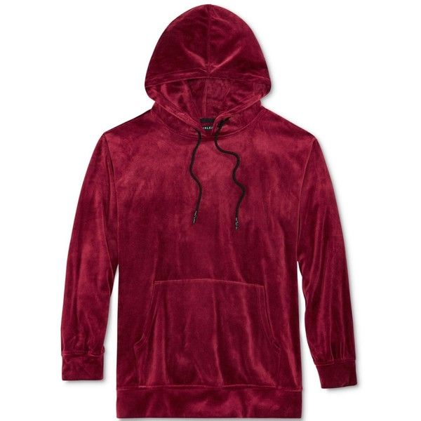 Jaywalker Men's Velour Hoodie (€25) ❤ liked on Polyvore featuring men's fashion, men's clothing, men's hoodies, burgundy, mens burgundy hoodie, mens hooded sweatshirts, mens velour hoodie, mens sweatshirts and hoodies and mens hoodie