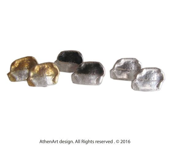 Copyright © 2016 Athenart jewelry My designs are protected by the law   Tiny stud earrings/contemporary jewelry/modern greek by AthenArt