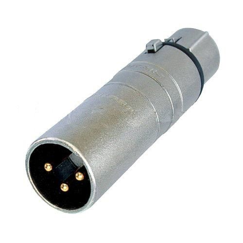 XLR Adaptor 3 pole Male to 5 pole Female DMX lighting connector