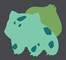 Pokemon - Bulbasaur by silverjade