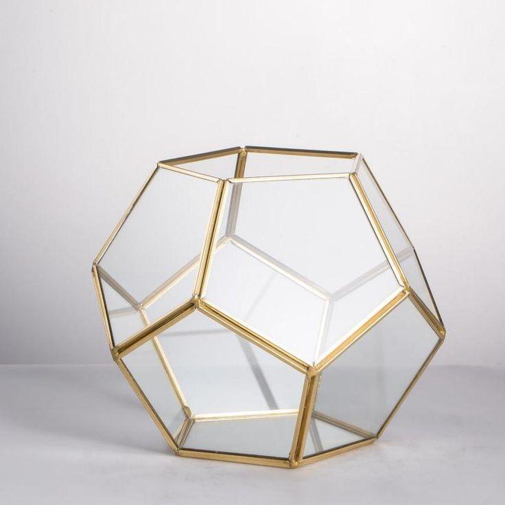 14+ Geo glass large clear glass desk ideas