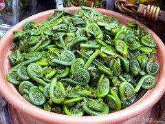 Sauteed fiddleheads - Liquid Gold and All Things Olive | Where nothing beats fresh