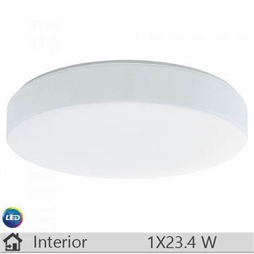 Plafoniera LED iluminat decorativ interior Eglo, gama Beramo, model 93582