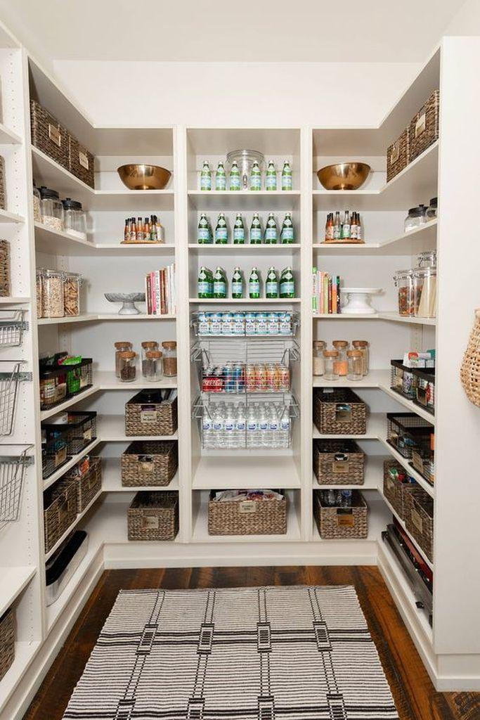 25 best pantry organization ideas we found on pinterest in 2020 pantry design kitchen pantry on kitchen organization layout id=69984