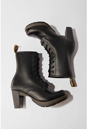 High Heeled Doc martens. Grown up version of a favorite!