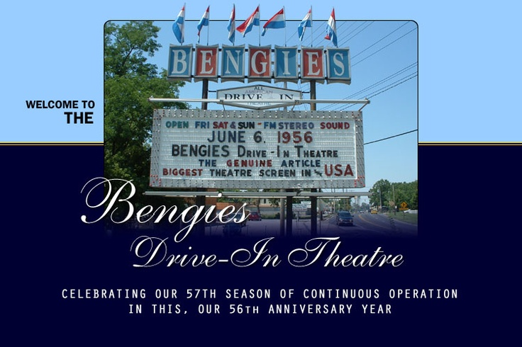 Bengie's Drive-In movie theater is the biggest in the US and opened in 1956, according to it's website. It plays three new movies for a triple feature every Friday and Saturday night for only $9 per person.