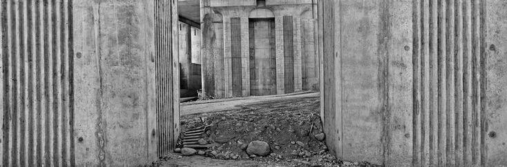 Josef Koudelka, Piemonte, near the town of Chivasso. Construction site of Turin-Milan high-speed rail line. Italy, 2004