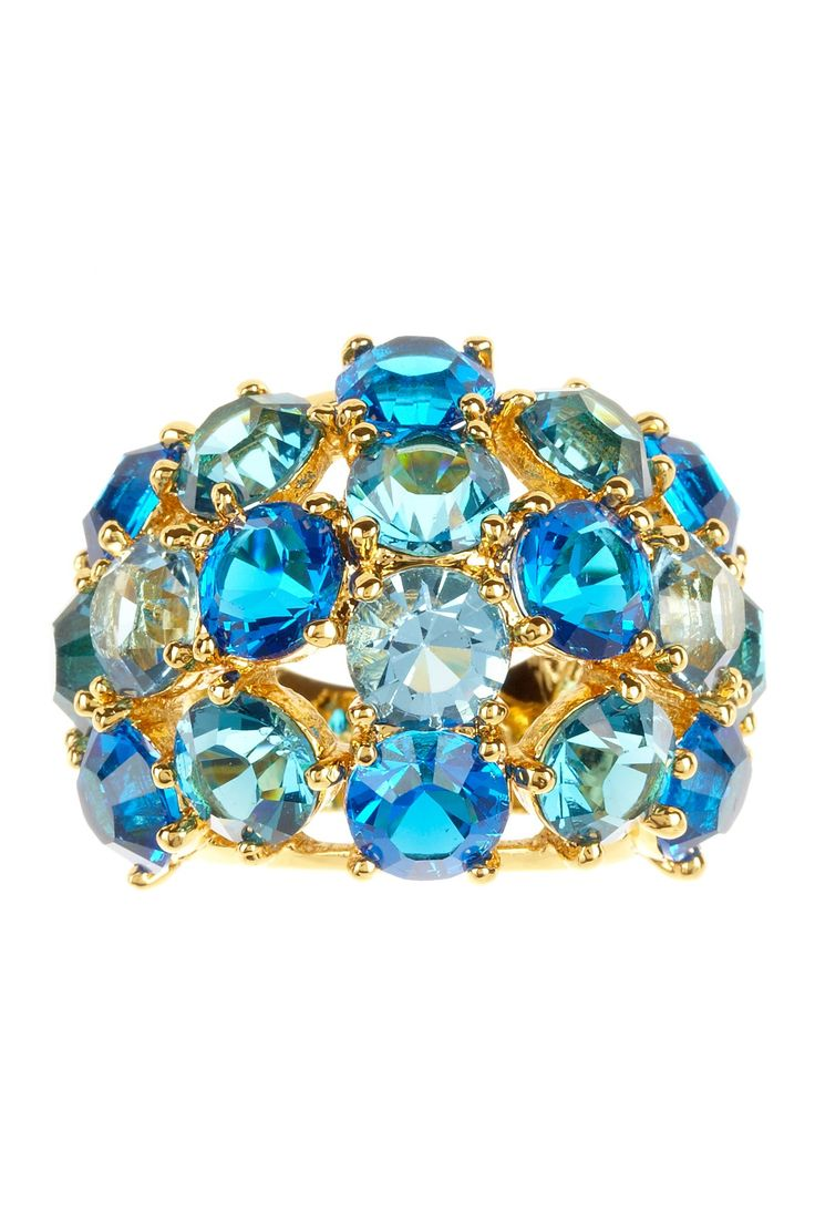 A Jewel Ring Encrusted