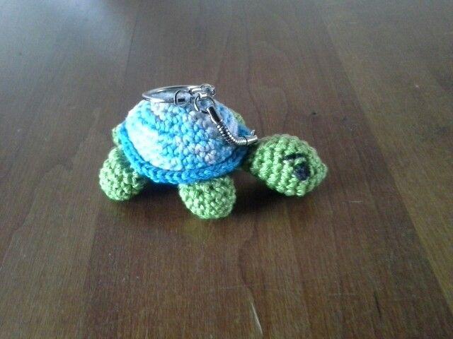 Schildpad - sleutelhanger