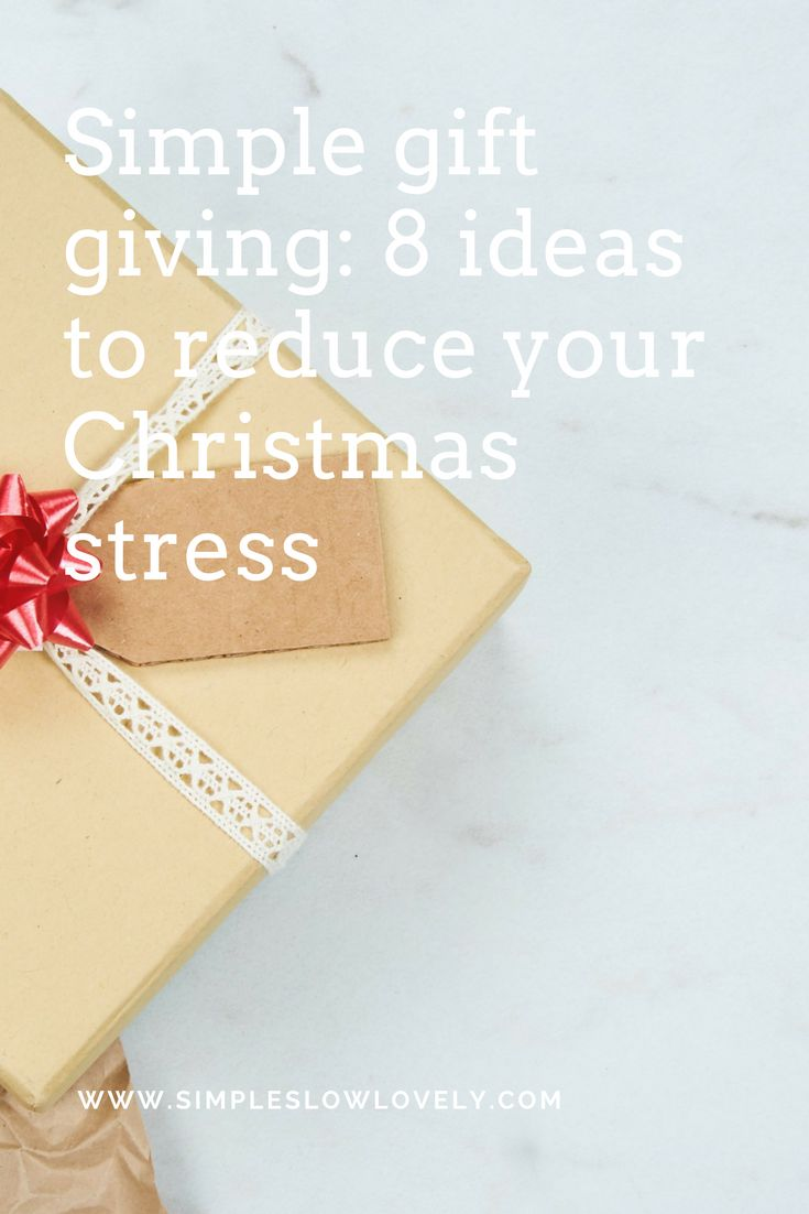 My previous Christmas giving has been a mixture of last minute rush to trying to give everyone handmade gifts! Anything but simple. This time of the year can be stressful and busy so I reckon we can figure out a simpler way to give thoughtfully to our loved ones.
